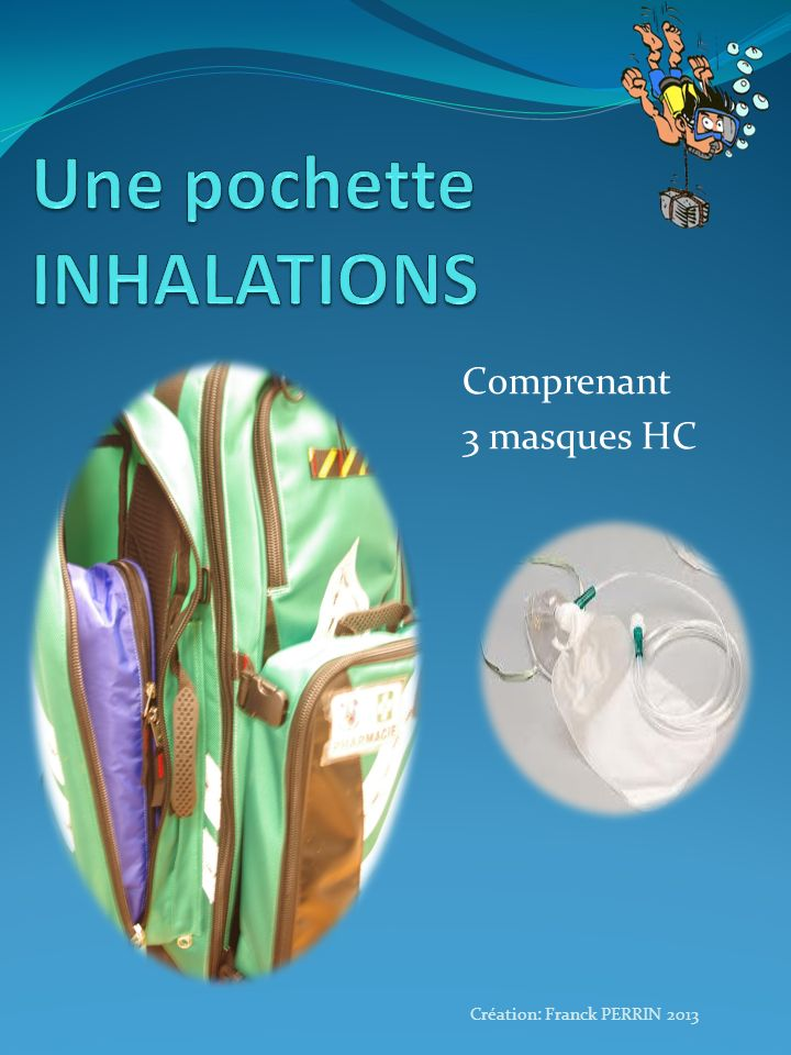 Une pochette INHALATIONS