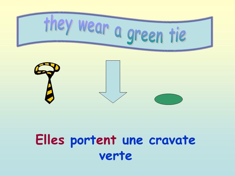 Elles portent une cravate verte