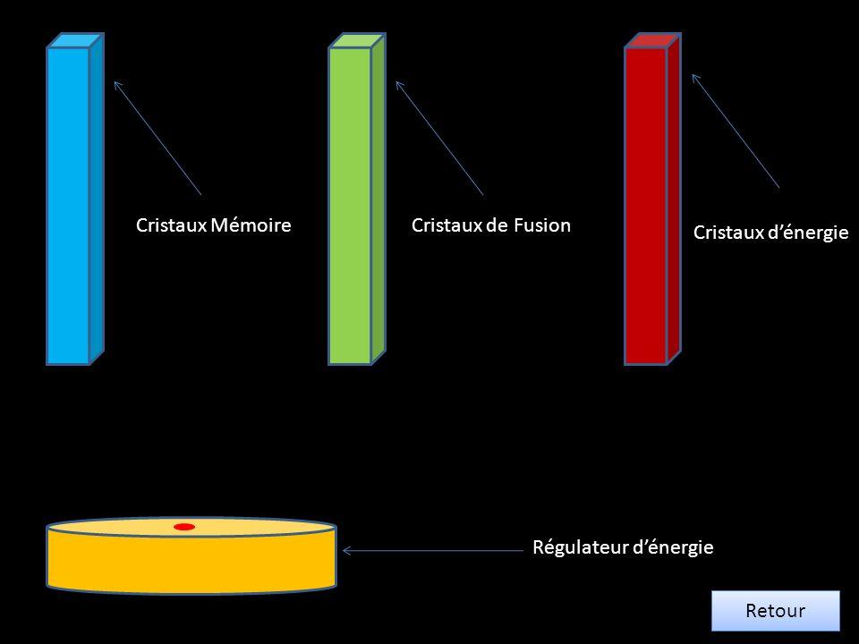Cristaux Mémoire Cristaux de Fusion Cristaux d'énergie Régulateur d'énergie Retour