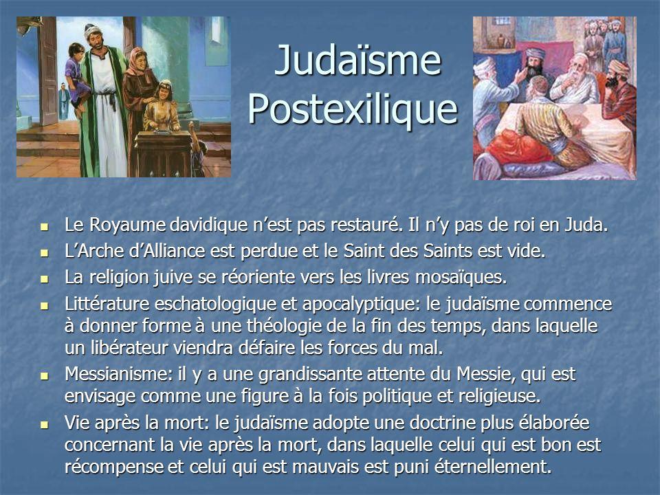 Judaïsme Postexilique
