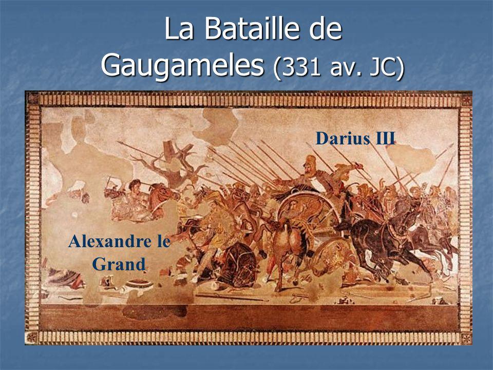 La Bataille de Gaugameles (331 av. JC)