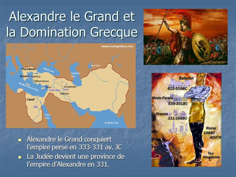 Alexandre le Grand et la Domination Grecque