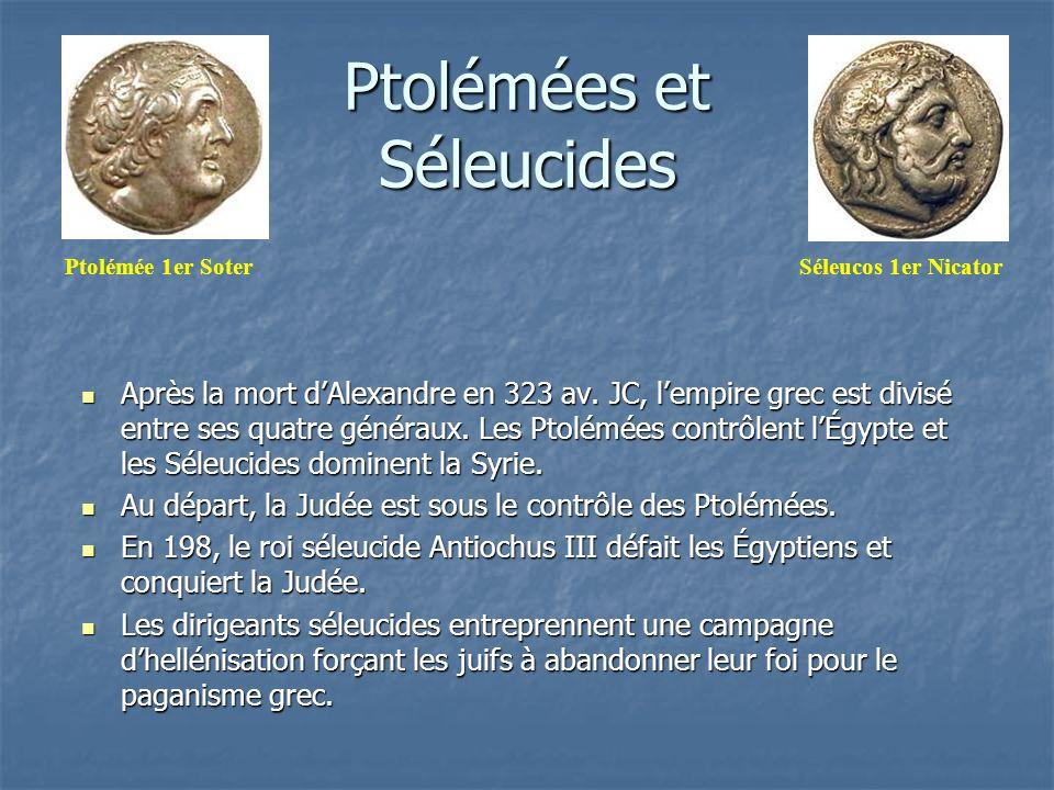 Ptolémées et Séleucides