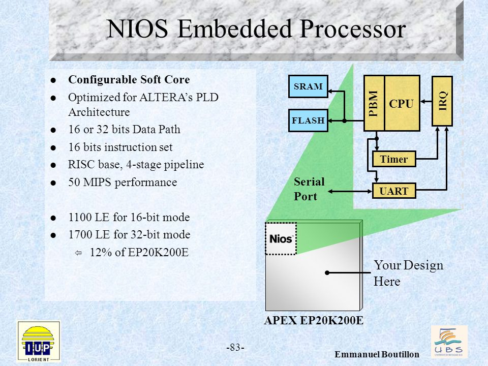NIOS Embedded Processor