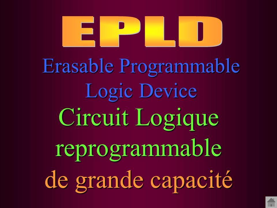 Circuit Logique reprogrammable