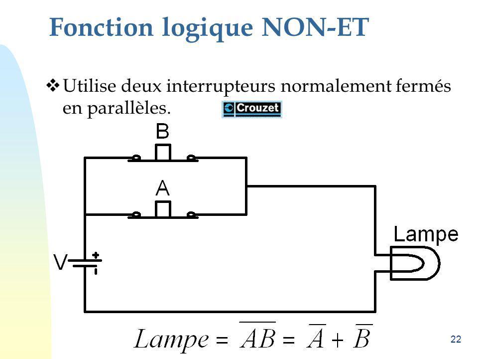 Fonction logique NON-ET