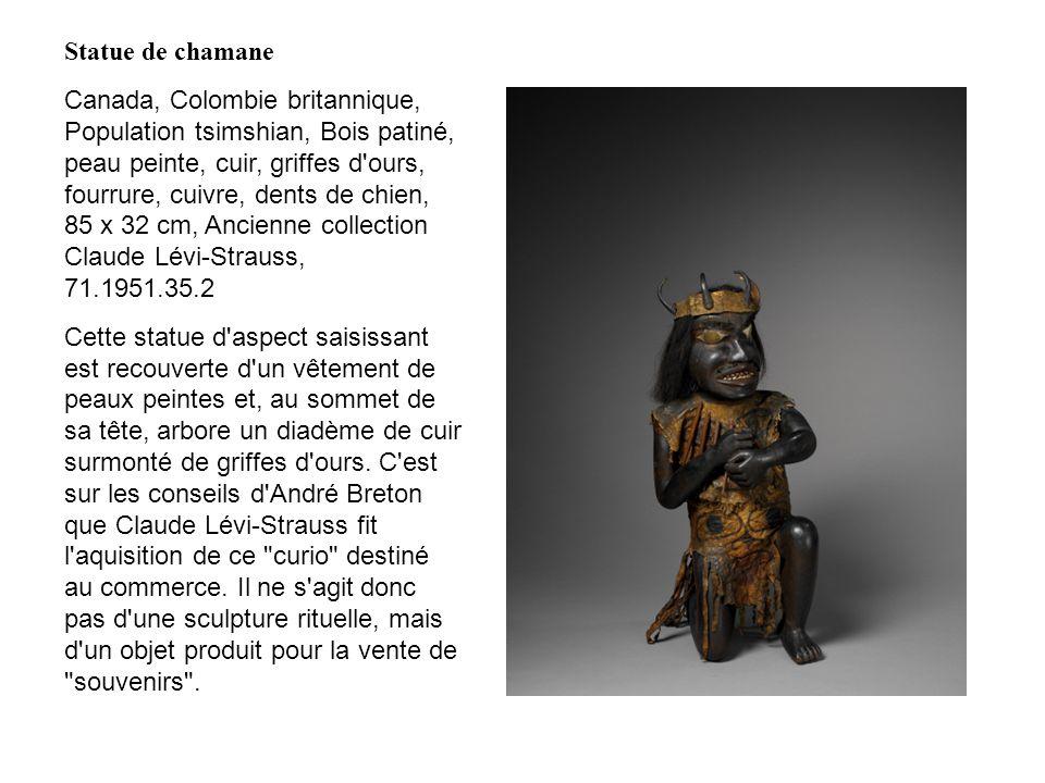 Statue de chamane