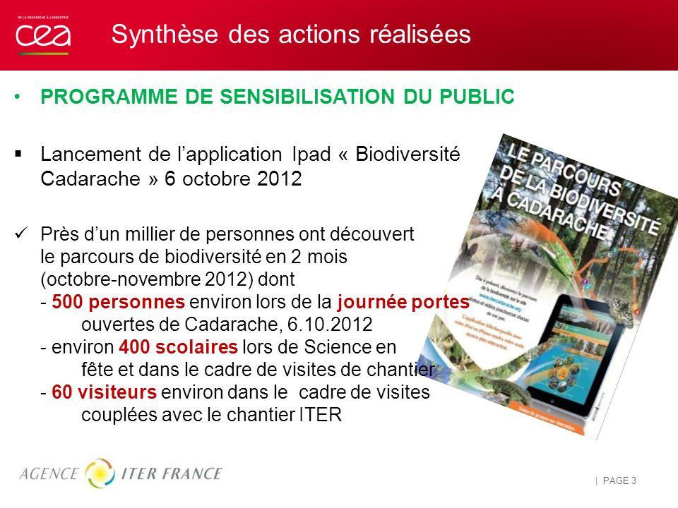 Information et Sensibilisation du public