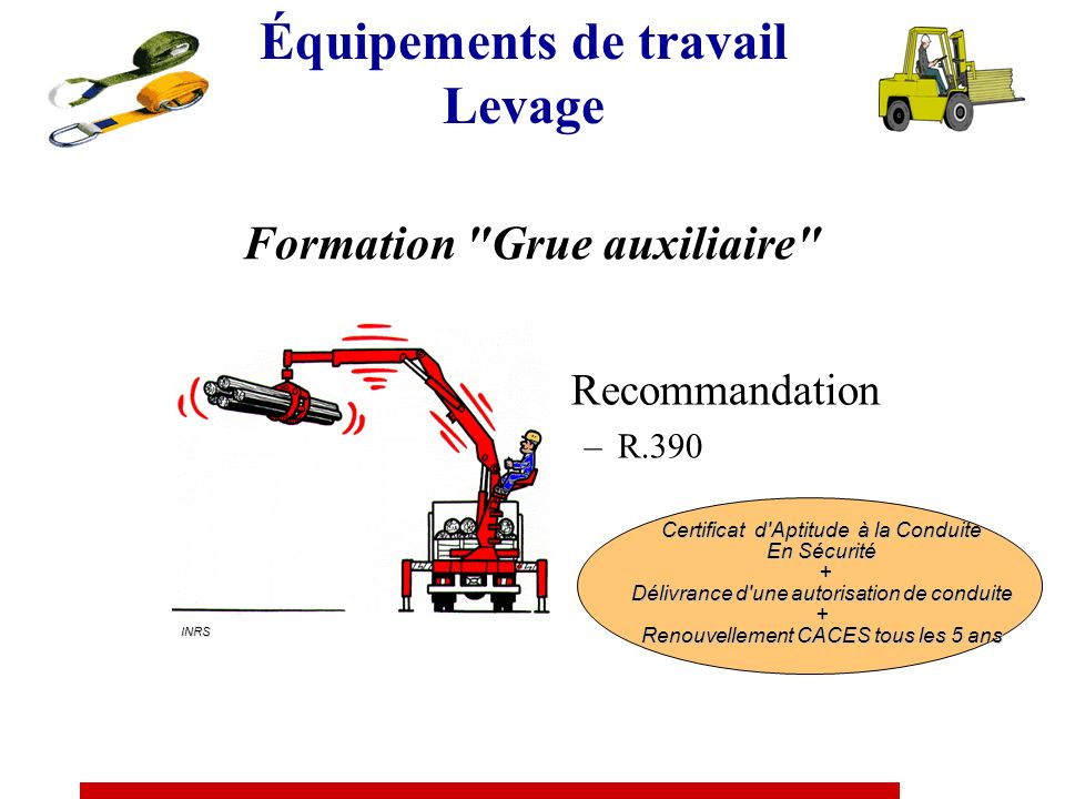 Formation Grue auxiliaire