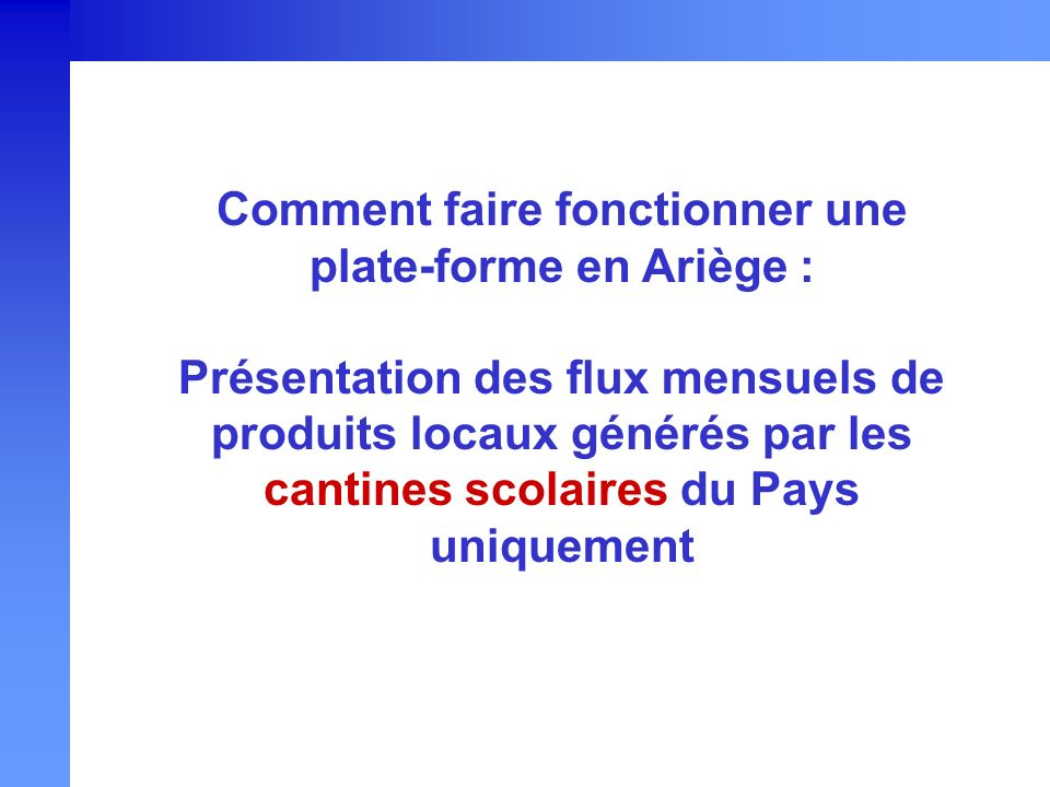 Comment faire fonctionner une plate-forme en Ariège :