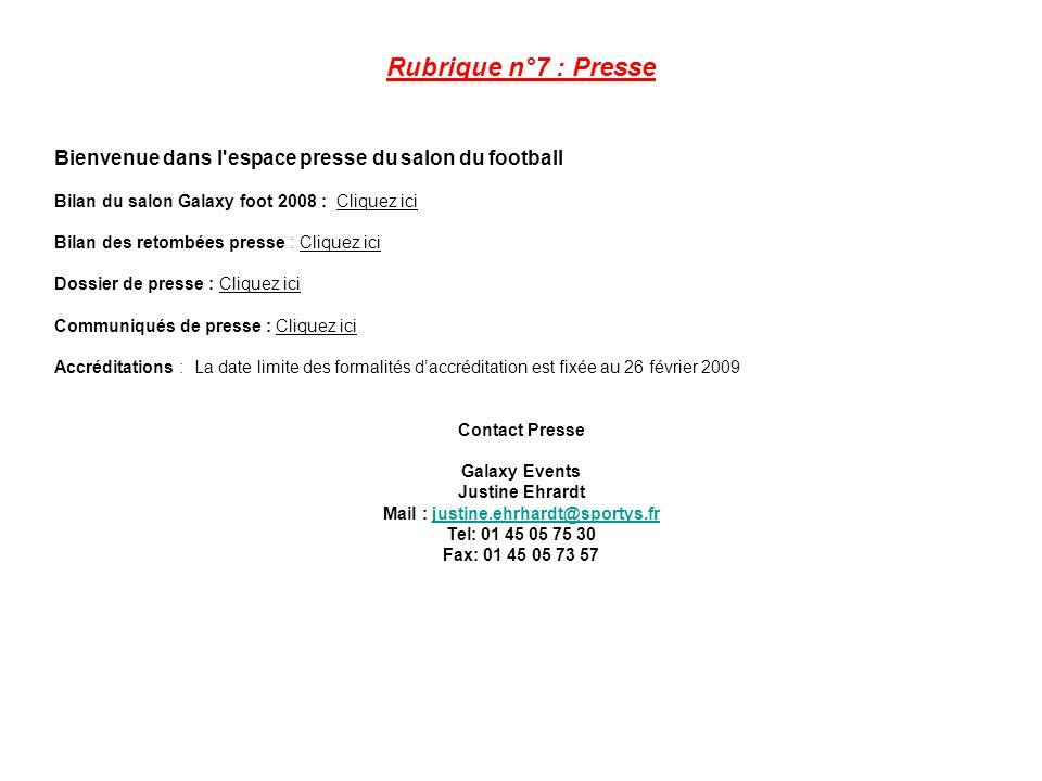 Mail : justine.ehrhardt@sportys.fr Tel: 01 45 05 75 30