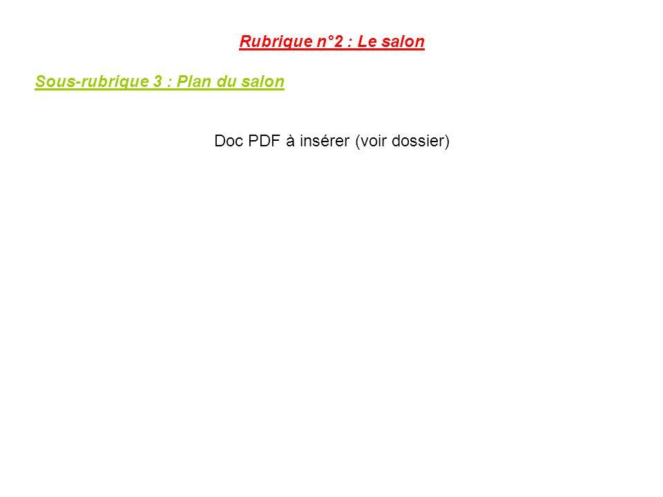 Doc PDF à insérer (voir dossier)