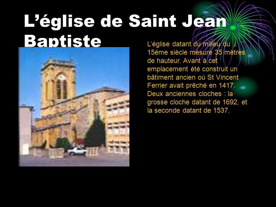 L'église de Saint Jean Baptiste