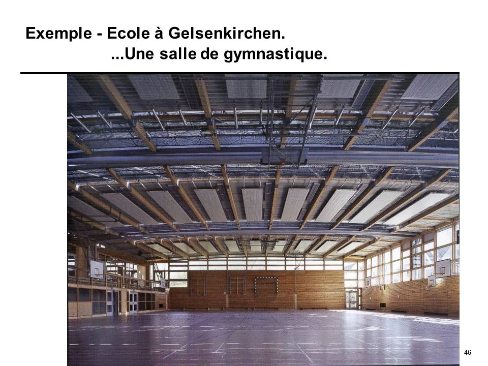 Exemple - Ecole à Gelsenkirchen.