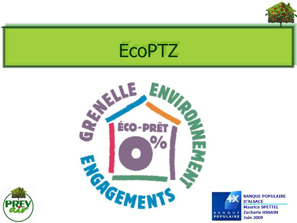 EcoPTZ BANQUE POPULAIRE D'ALSACE Maurice SPETTEL Zacharie HSSAIN