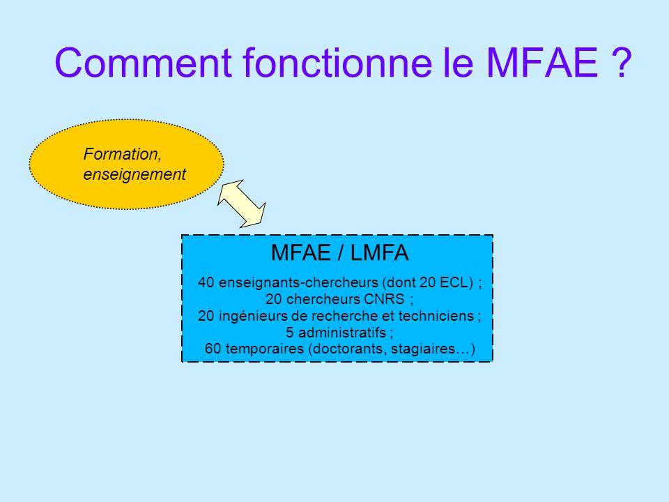 Comment fonctionne le MFAE