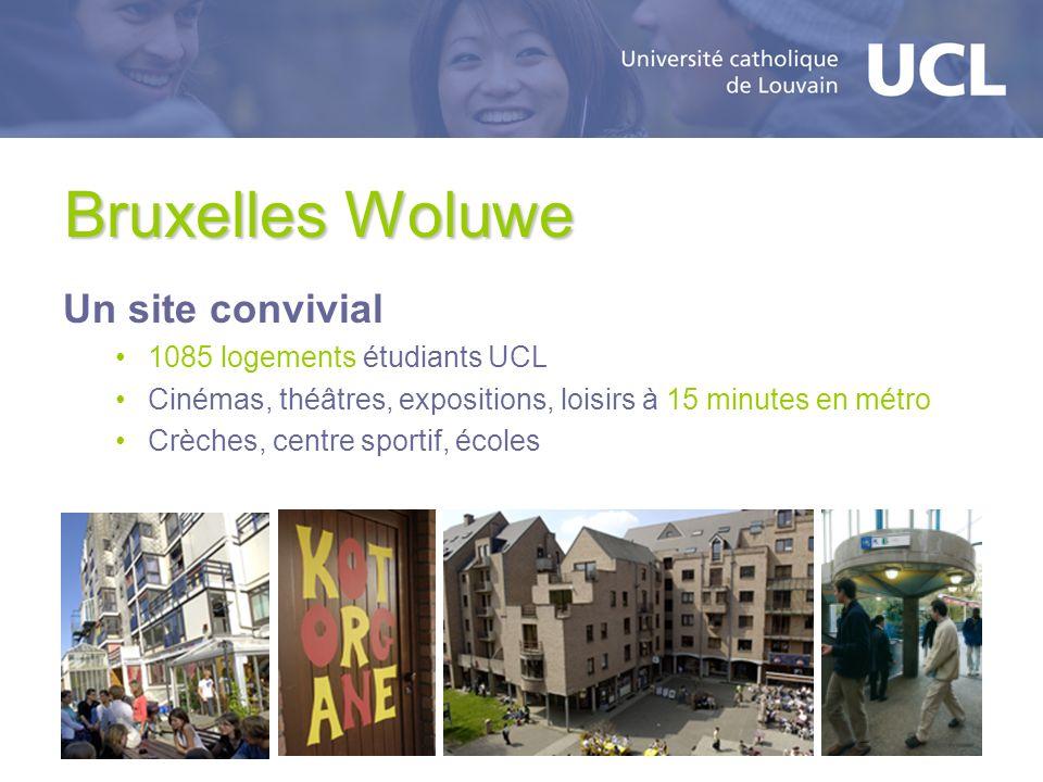Bruxelles Woluwe Un site convivial 1085 logements étudiants UCL