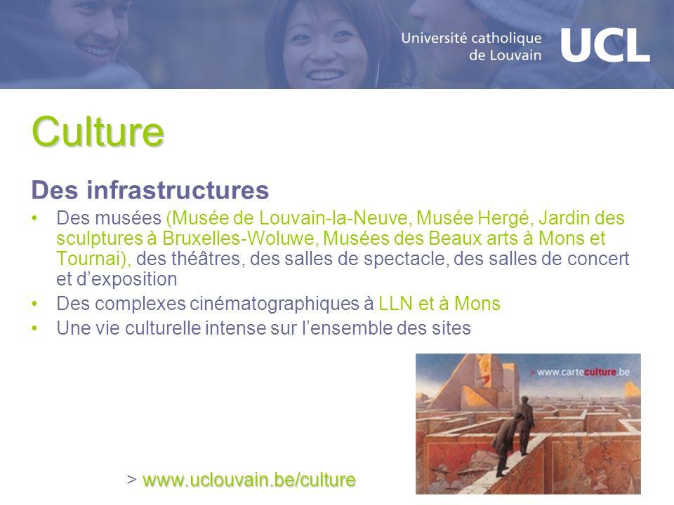 Culture Des infrastructures