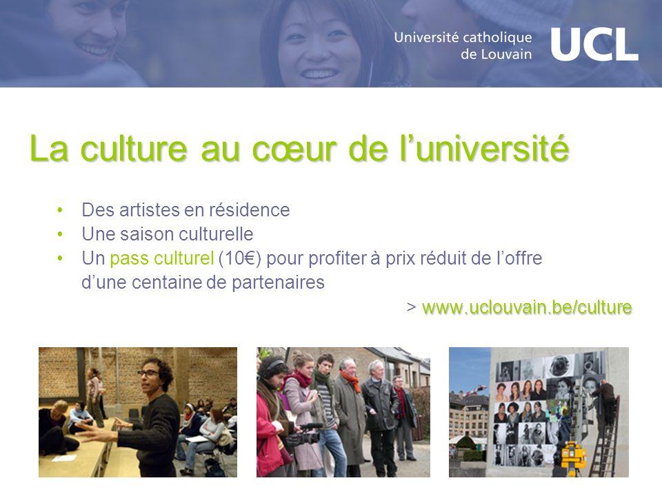 La culture au cœur de l'université