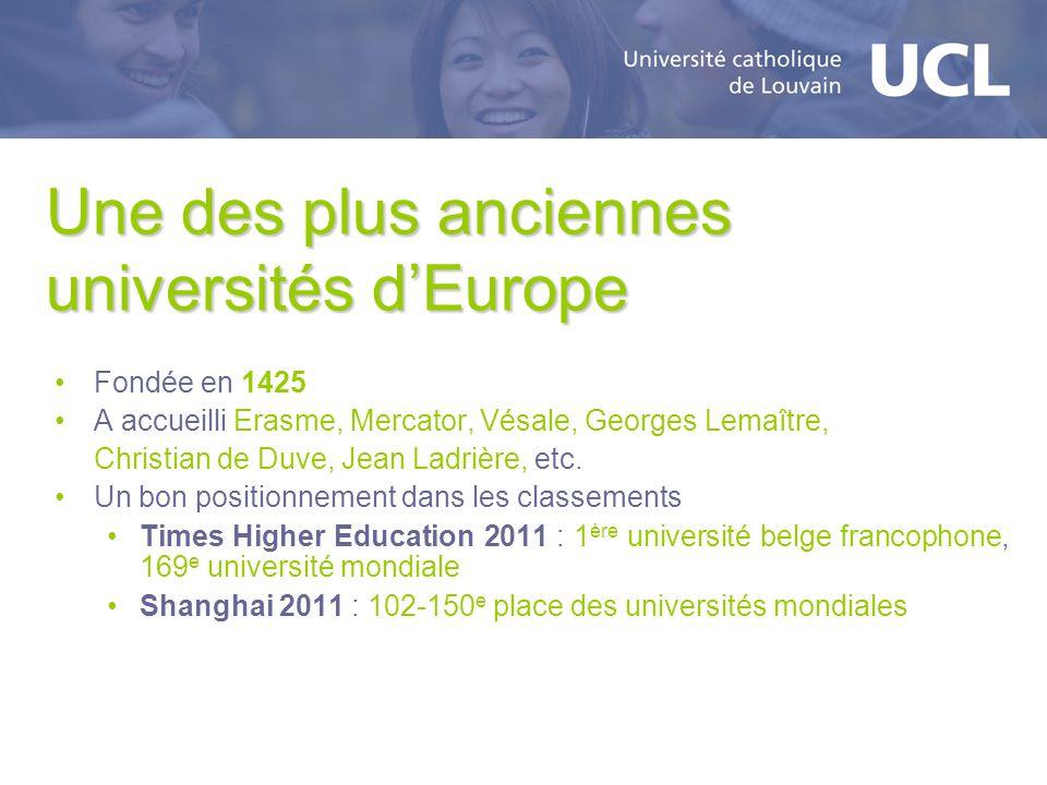 Une des plus anciennes universités d'Europe