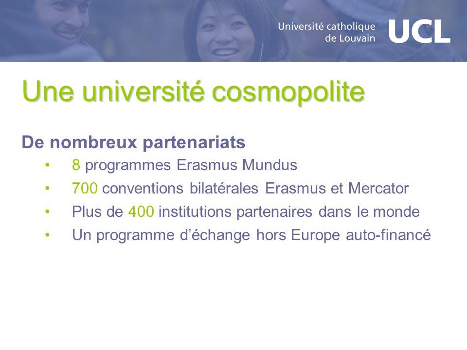 Une université cosmopolite