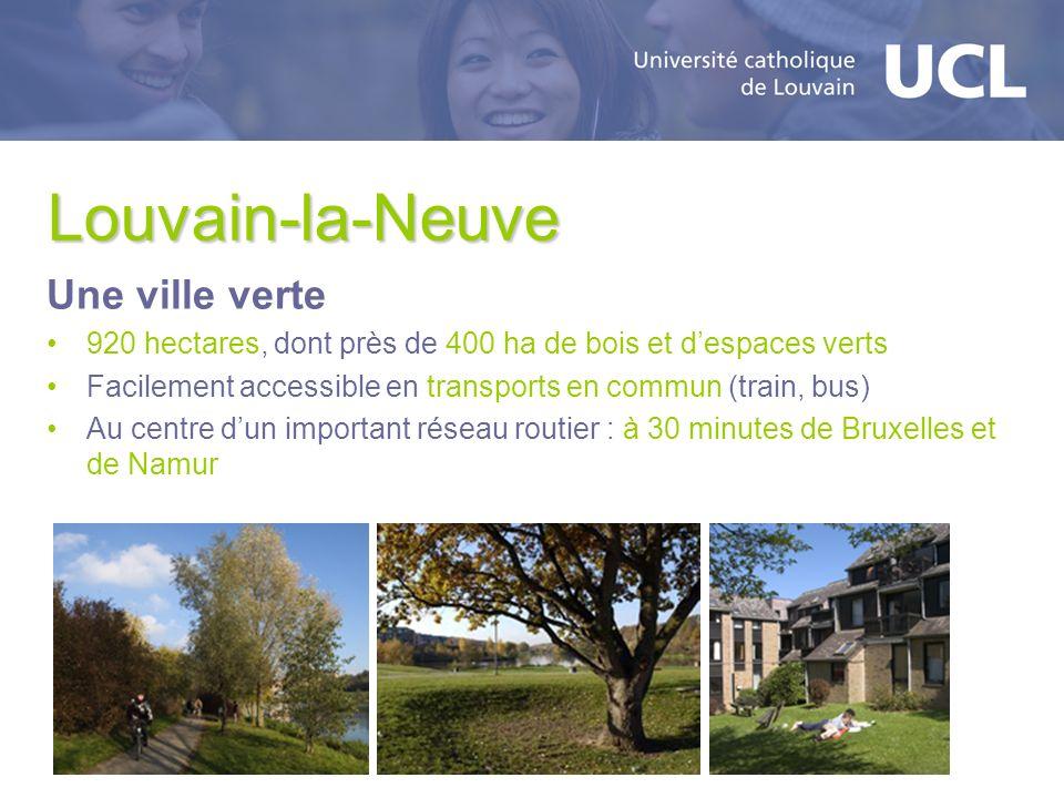 Louvain-la-Neuve Une ville verte
