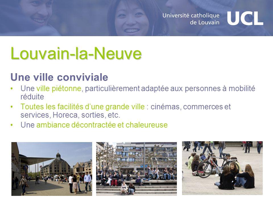 Louvain-la-Neuve Une ville conviviale