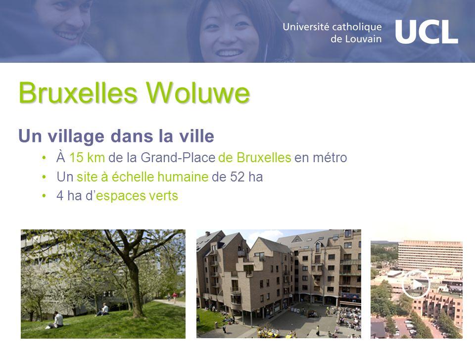 Bruxelles Woluwe Un village dans la ville