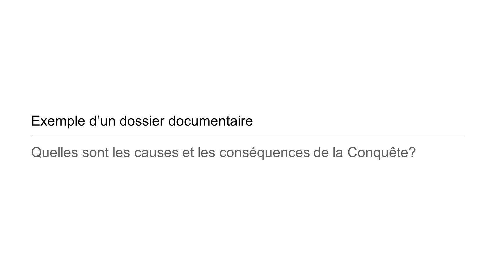 Exemple d'un dossier documentaire
