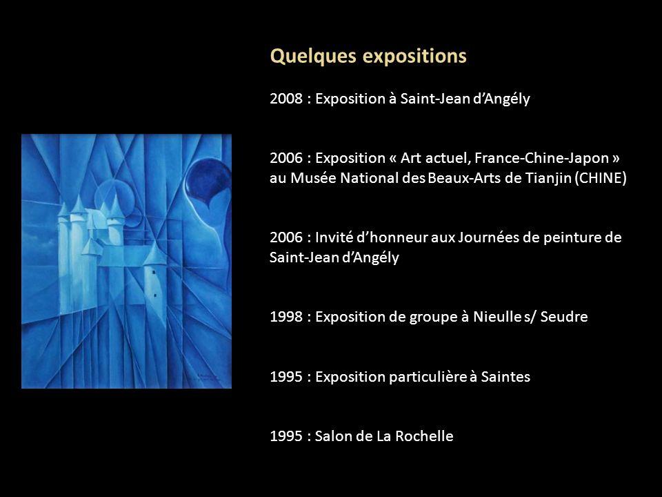 Quelques expositions 2008 : Exposition à Saint-Jean d'Angély