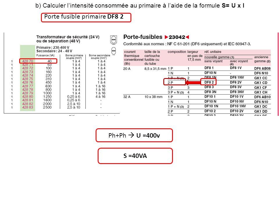 Porte fusible primaire DF8 2