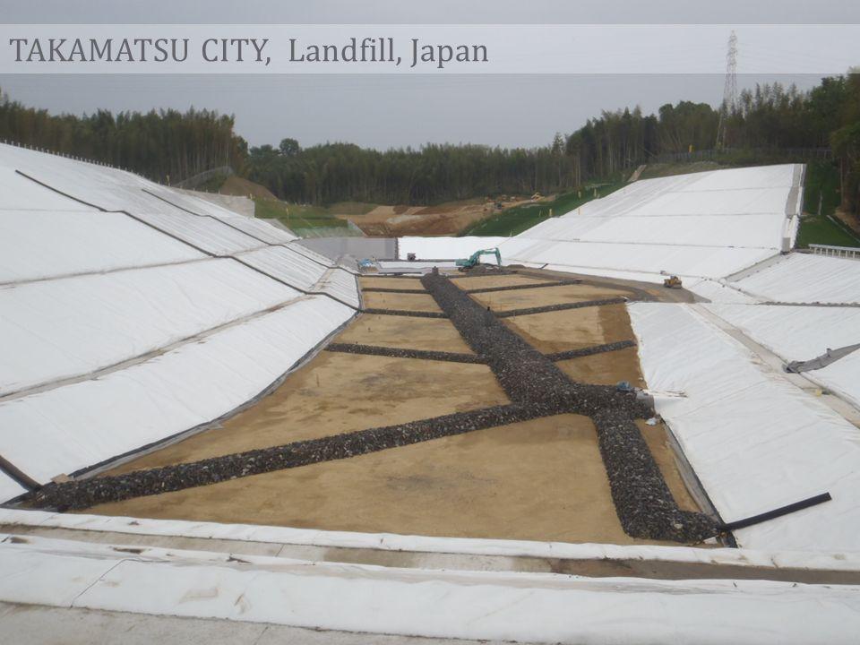 TAKAMATSU CITY, Landfill, Japan