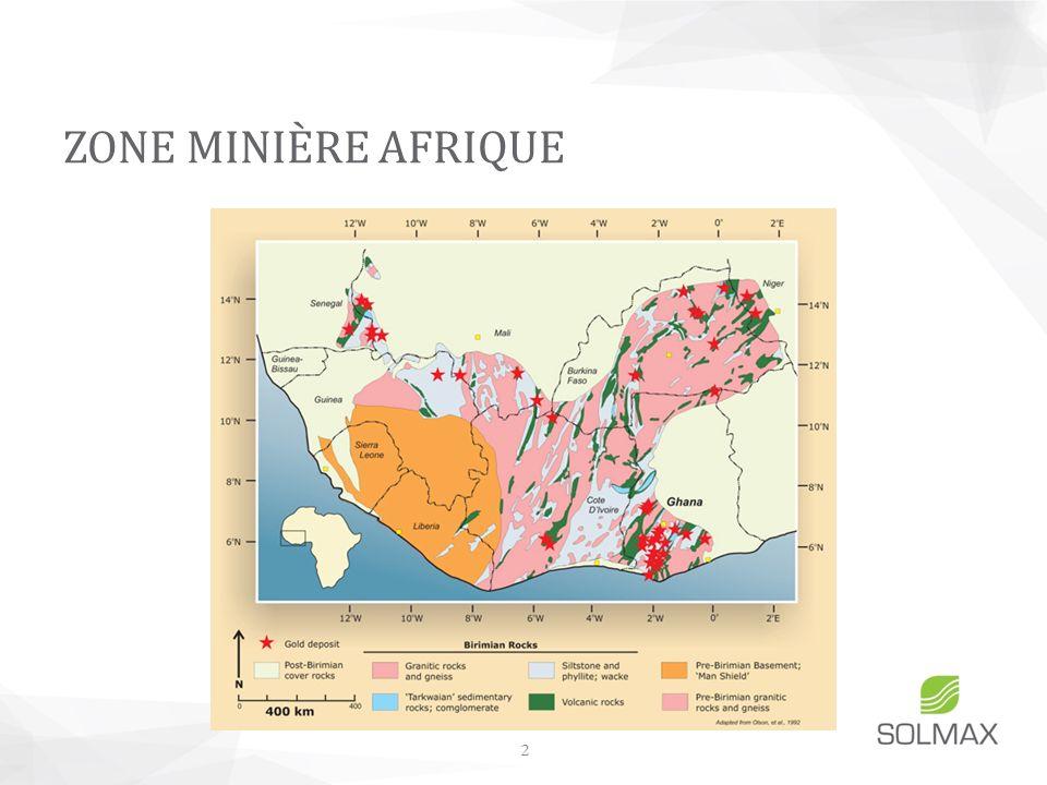 ZONE MINIÈRE AFRIQUE