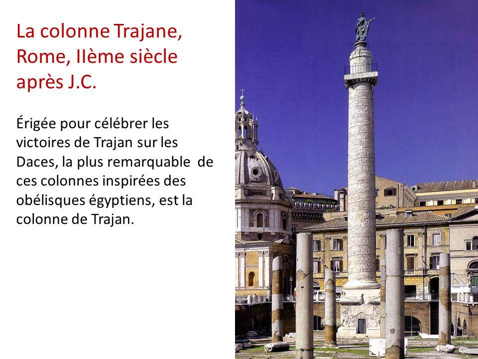 La colonne Trajane, Rome, IIème siècle après J. C