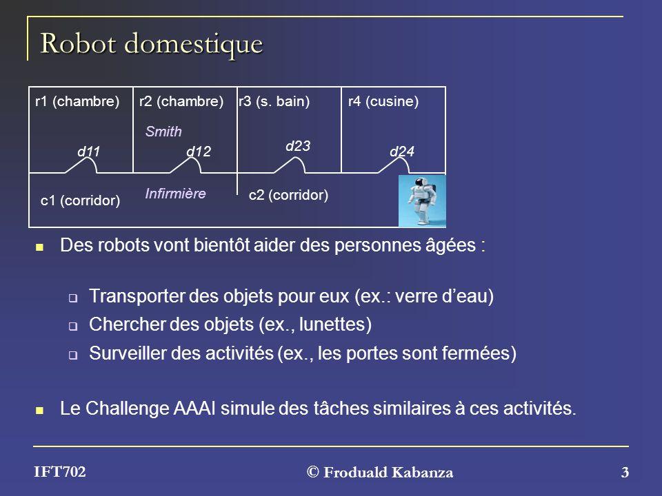 Robot domestique Des robots vont bientôt aider des personnes âgées :