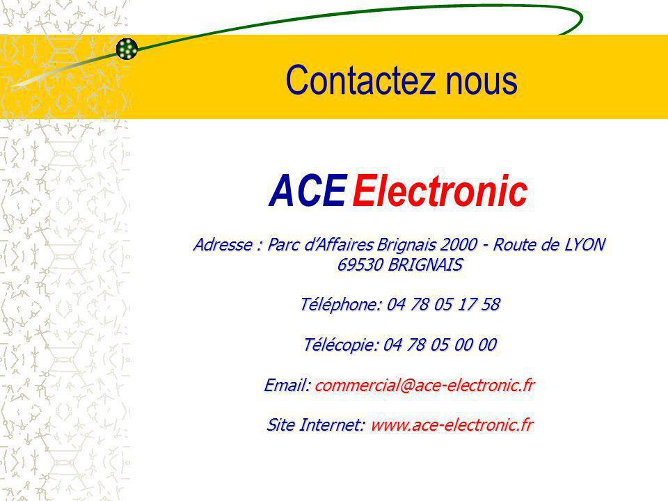 ACE Electronic Contactez nous