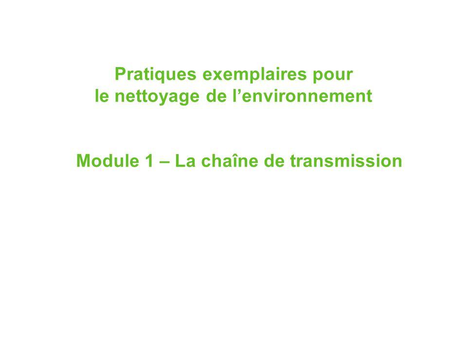 Pratiques exemplaires pour le nettoyage de l'environnement