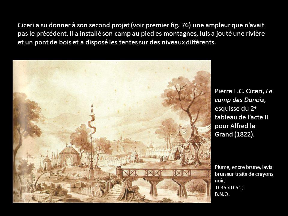 Ciceri a su donner à son second projet (voir premier fig