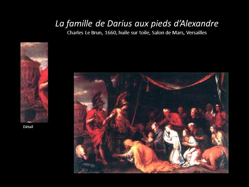 La famille de Darius aux pieds d'Alexandre Charles Le Brun, 1660, huile sur toile, Salon de Mars, Versailles