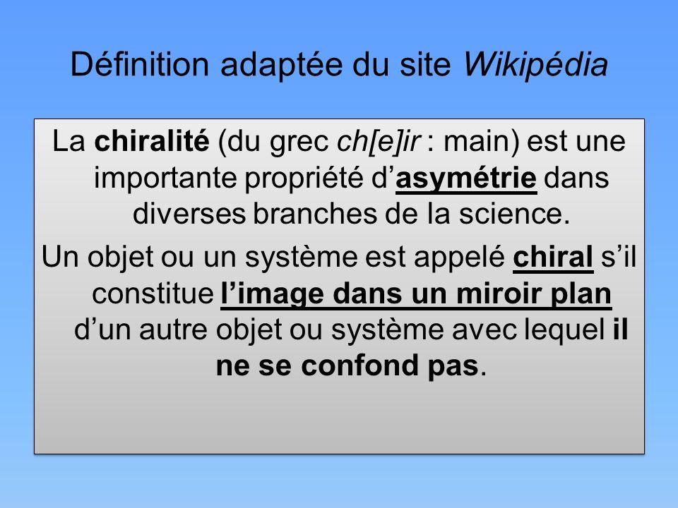 Définition adaptée du site Wikipédia