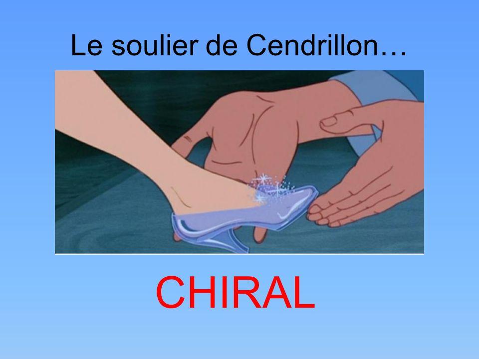Le soulier de Cendrillon…