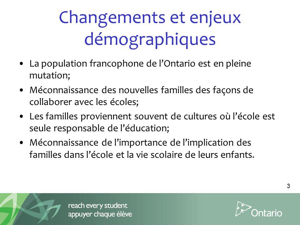Changements et enjeux démographiques
