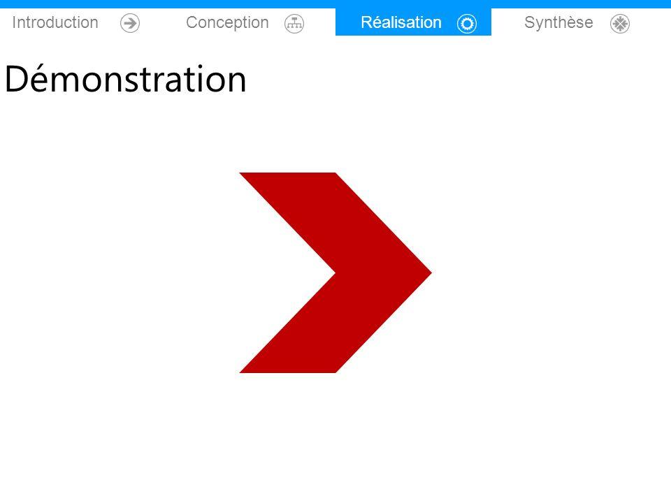 Introduction Conception Réalisation Synthèse Démonstration