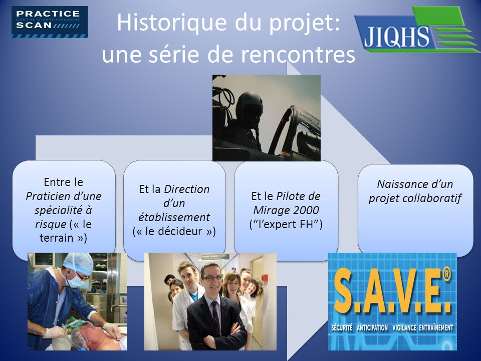 Historique du projet: une série de rencontres