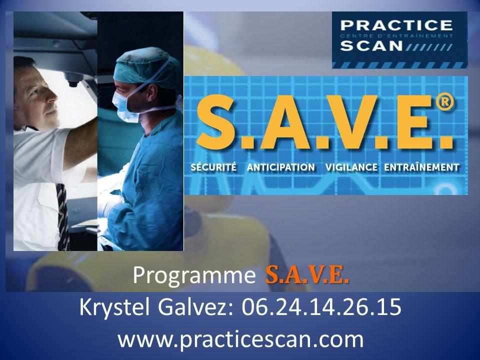 Programme S.A.V.E. Krystel Galvez: 06.24.14.26.15 www.practicescan.com