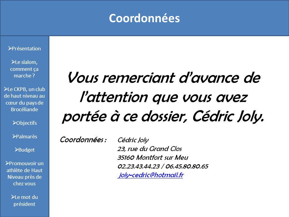 Coordonnées Présentation. Le slalom, comment ça marche Le CKPB, un club de haut niveau au cœur du pays de Brocéliande.