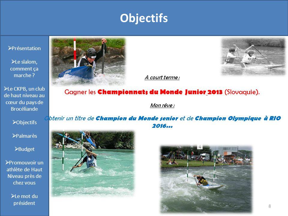 Présentation Objectifs