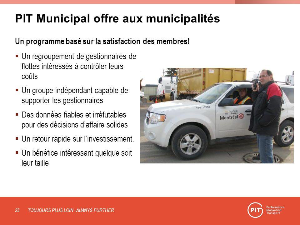PIT Municipal offre aux municipalités