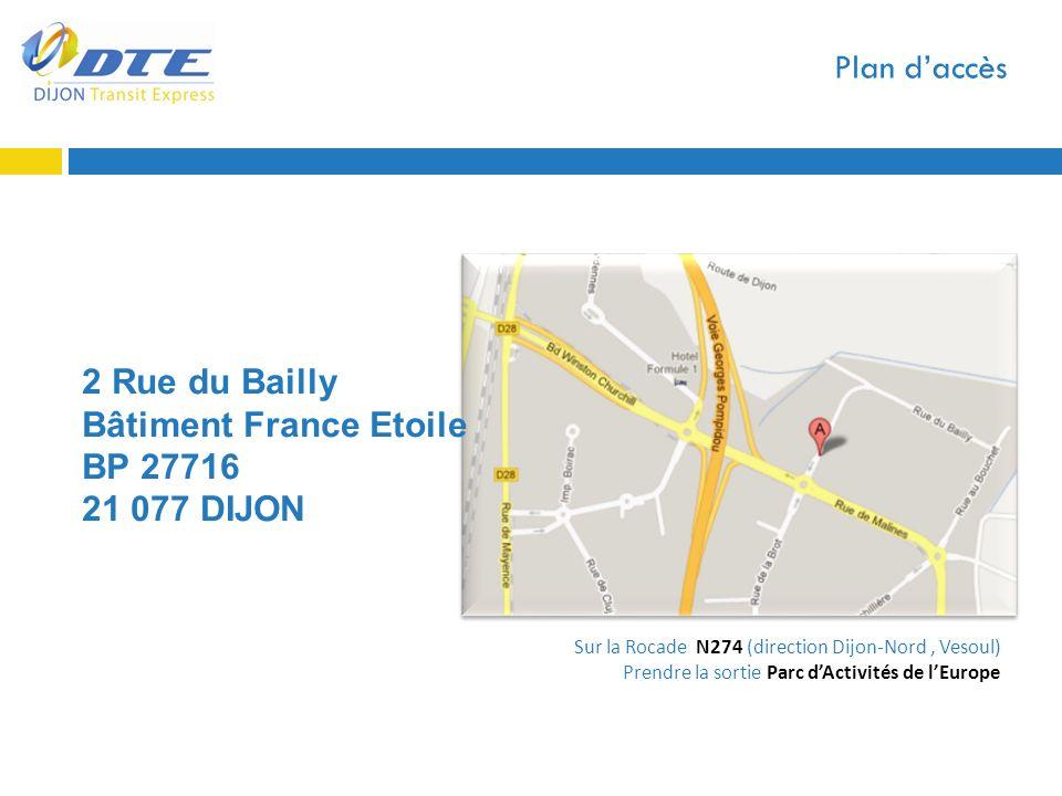 Bâtiment France Etoile BP 27716 21 077 DIJON