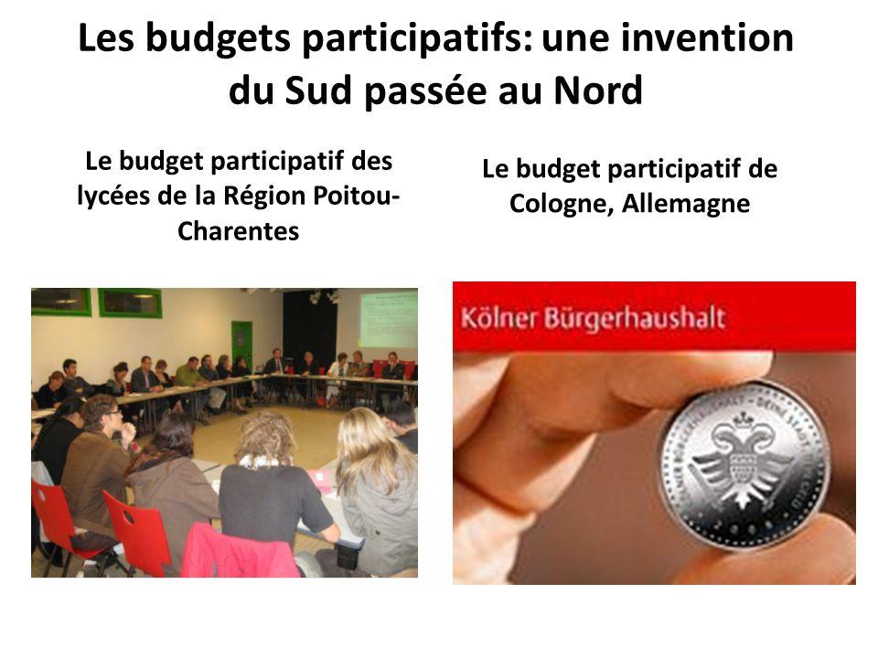Les budgets participatifs: une invention du Sud passée au Nord